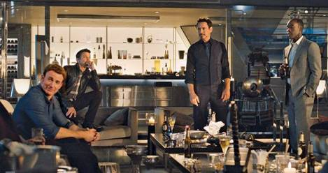 Avengers: Age of Ultron Copyright Marvel
