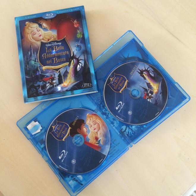 """L'edizione 2007 """"Platinum Edition"""" in Blu ray de """"la bella addormentata"""""""