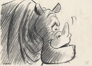 8) Rocky era un rinoceronte miope amico degli avvoltoi che fu tagliato nello sviluppo del film. Questo fu eliminato per non appesantire ulteriormente l'azione già dinamica e massiccia che il film presentava.