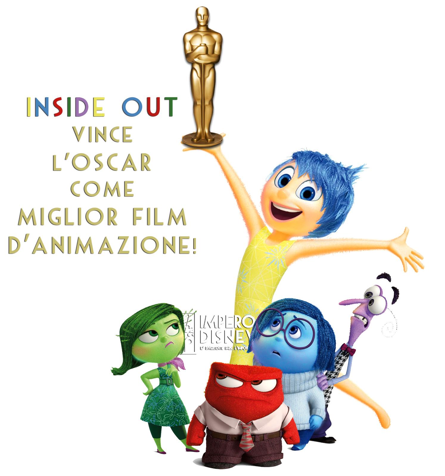 Inside Out Oscar