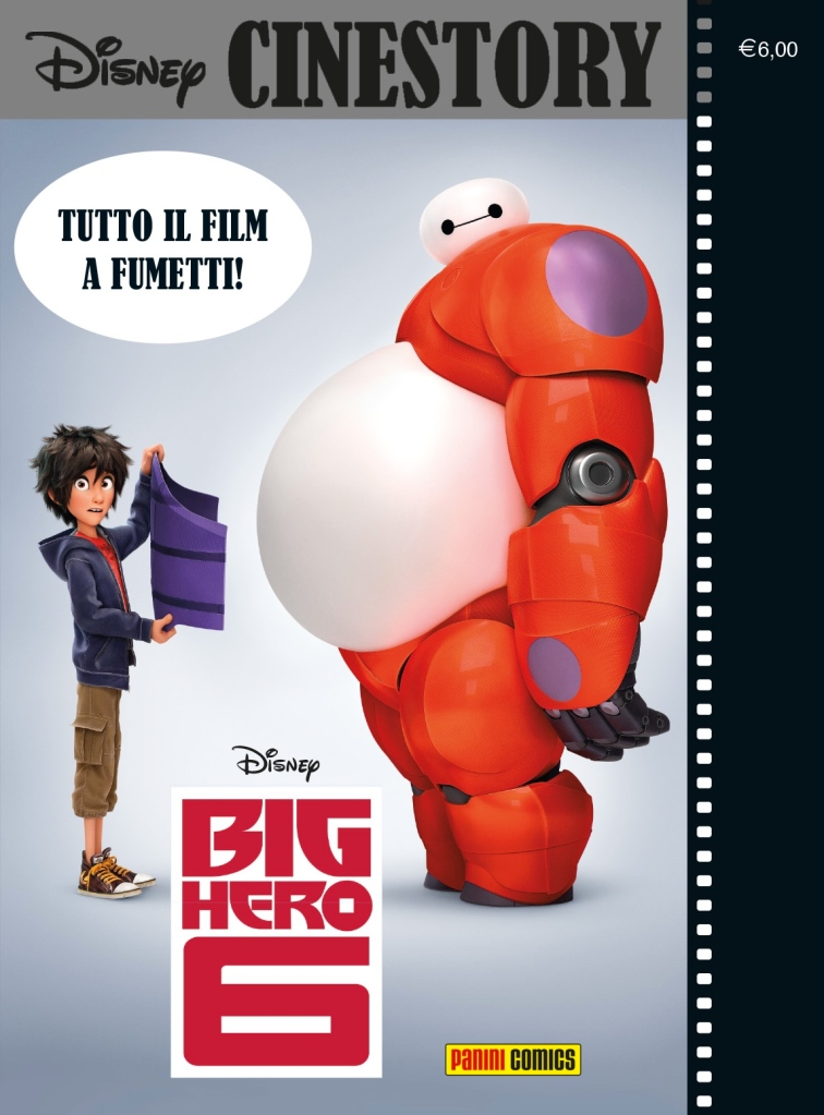 disney cinestory big hero 6