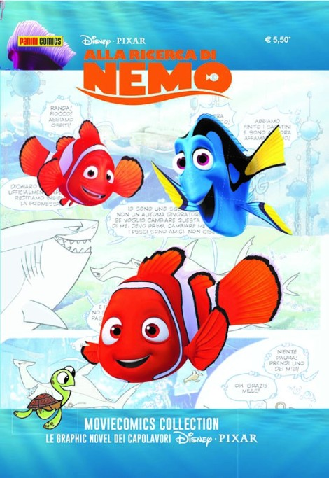 disney moviecomics collection nemo