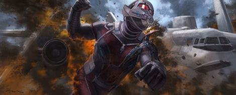 Concept Art Civil War Andy Park AntMan