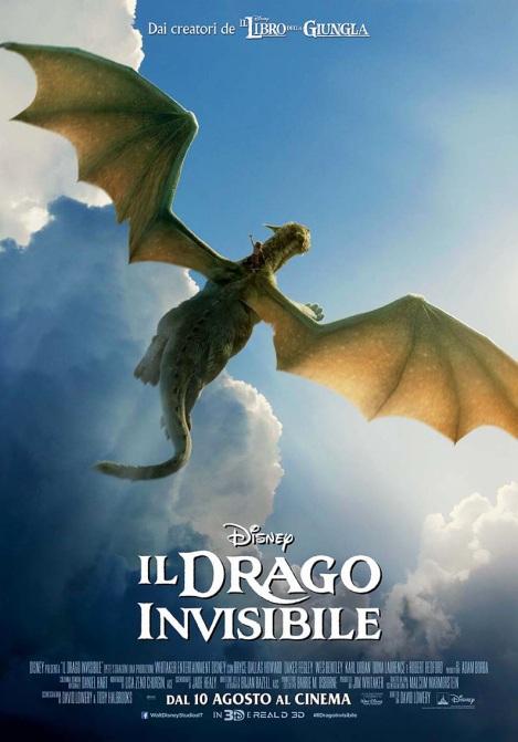 drago invisibile poster italiano