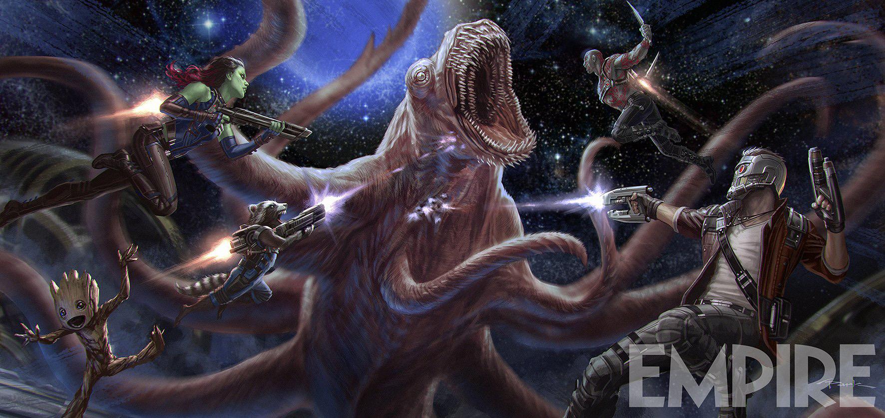 Guardiani della Galassia 2 Concept Art Empire
