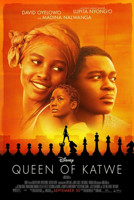 queen of katwe nuovo poster
