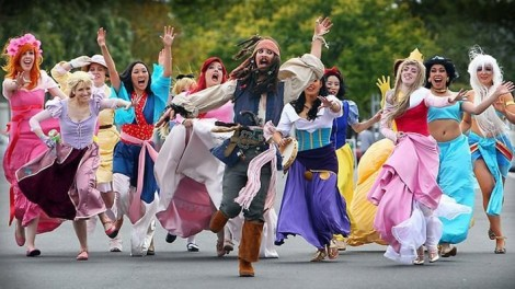 jack-sparrow-and-disney-princesses-cosplay
