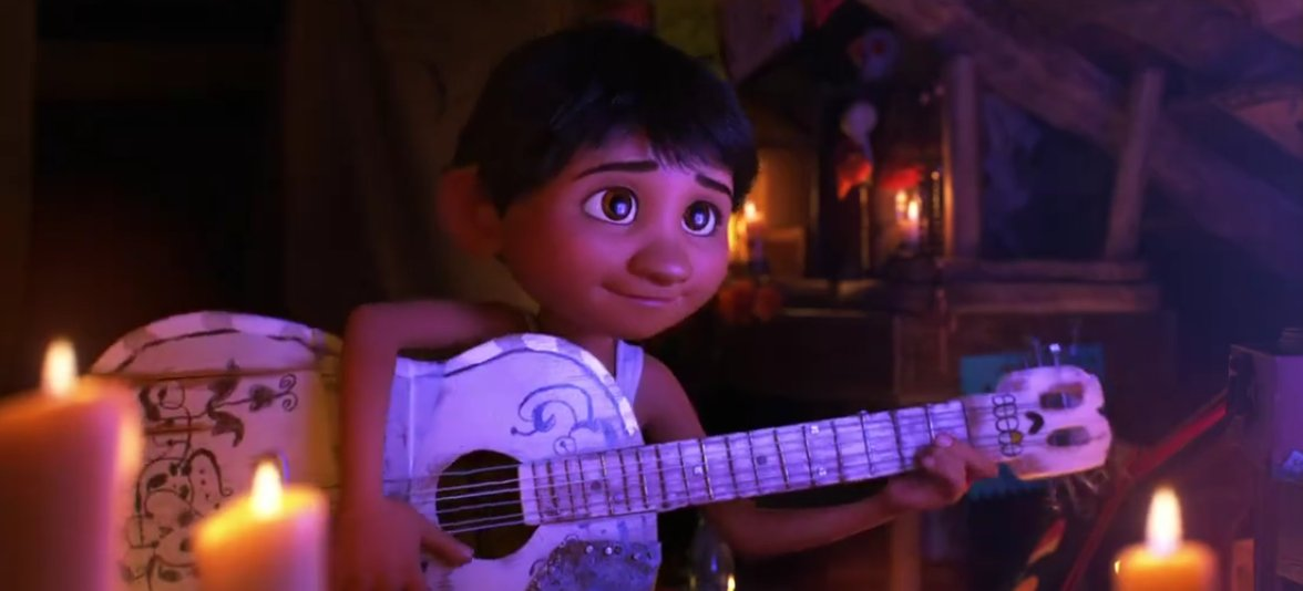 coco pixar animation studios trailer screenshot