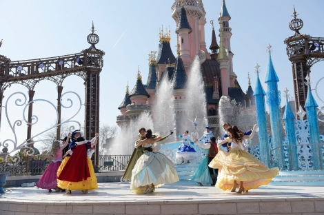 disneyland paris 25 anniversario valzer delle principesse