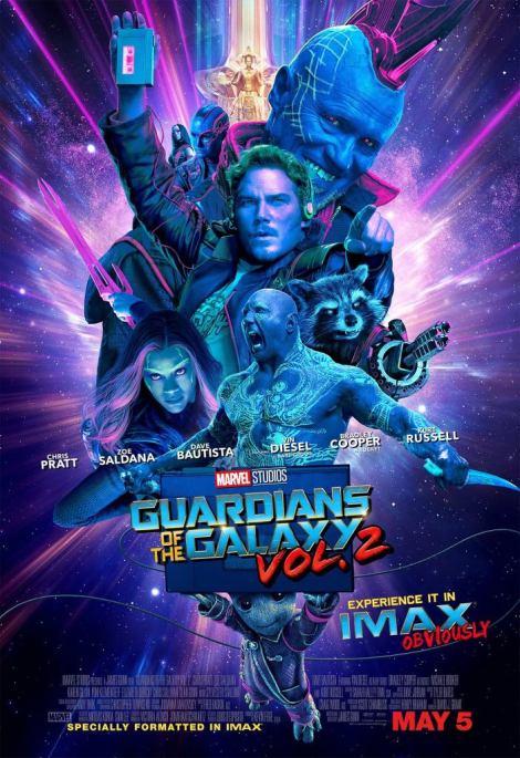 Guardiani della Galassia - Poster IMAX