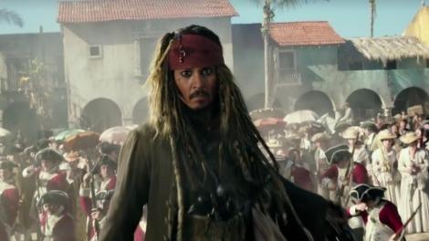 pirati dei caraibi 5 la vendetta di salazar johnny depp jack sparrow nuovo promo poster