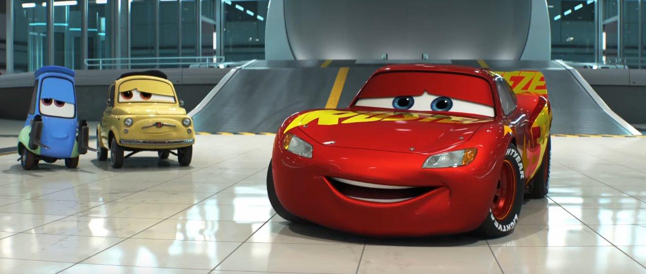 cars 3 pixar animation studios sequel nuovo trailer inglese