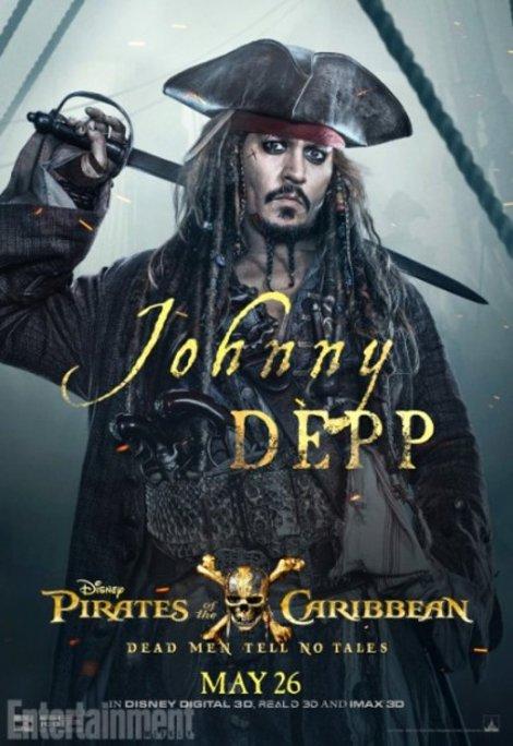 pirati dei caraibi vendetta di salazar character poster1