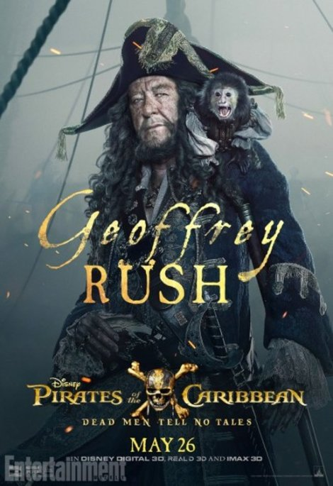 pirati dei caraibi vendetta di salazar character poster3