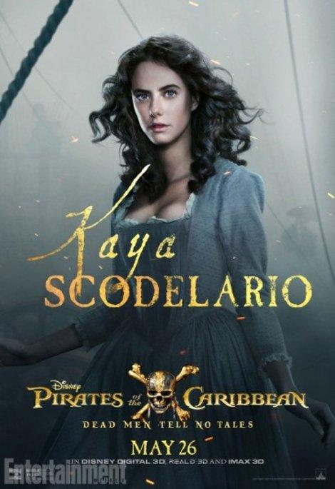 pirati dei caraibi vendetta di salazar character poster4