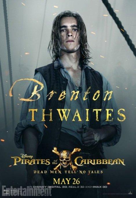 pirati dei caraibi vendetta di salazar character poster5