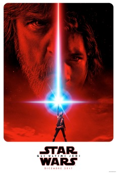 star wars ultimi jedi poster italiano