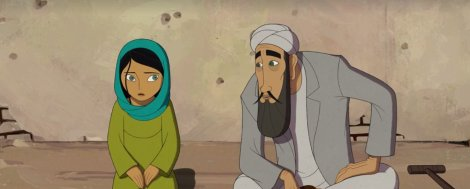 the breadwinner cartoon saloon screenshot