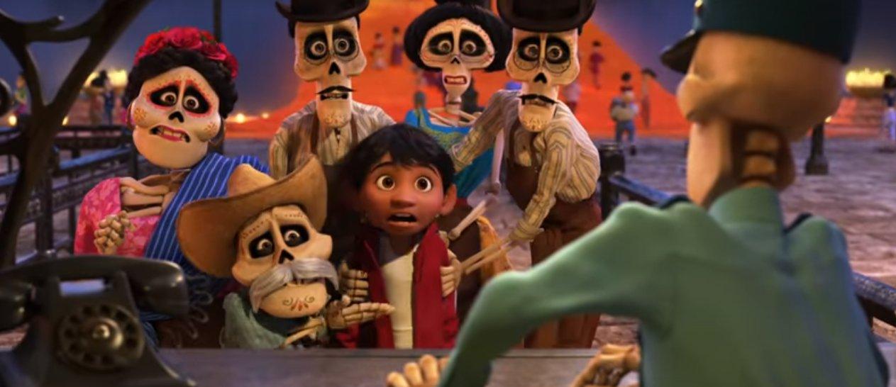 coco pixar lee unkrich secondo trailer screenshot