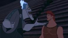 """14) Quando Ade e Ercole si stringono la mano il Dio della Morte usa la sinistra. Anticamente, difatti, si pensava che i mancini usassero """"la mano del diavolo""""."""
