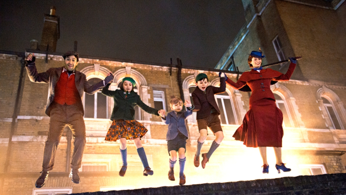 mary poppins returns prima immagine emily blunt lin manuel miranda sequel