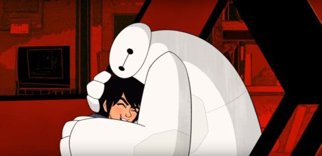 big hero 6 la serie animata baymax hiro screenshot sigla