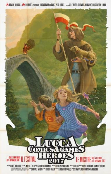 Lucca Comics & Games 2017 Poster