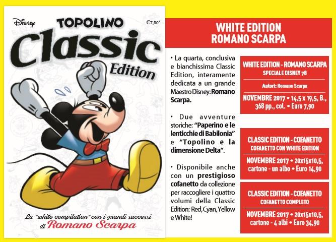 Anteprima - Topolino Classic Edition, Romano Scarpa