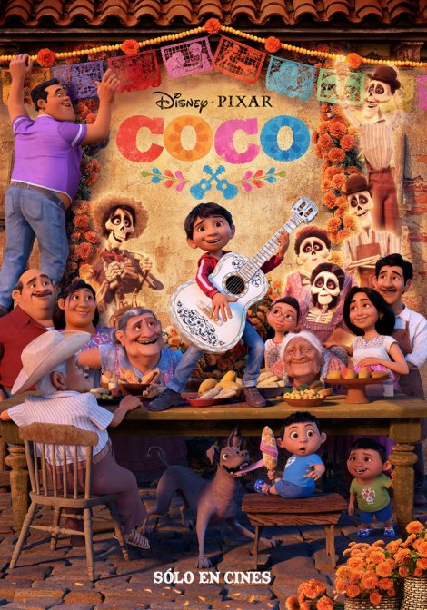 coco nuovo poster internazionale pixar lee unkrich
