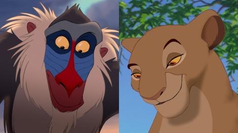 il re leone remake live action voci doppiatori rafiki sarabi
