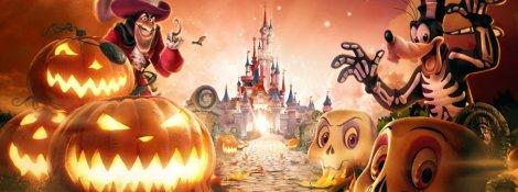 disneyland paris halloween 2017 banner cattivi disney parata spettacoli eventi ottobre novembre