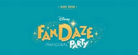 disneyland paris disney fandaze event inaugural party logo