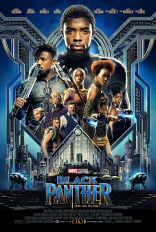 Pantera Nera Black Panther Poster (3)