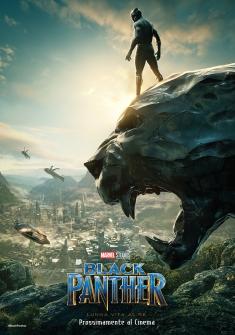 Pantera Nera Black Panther Poster(2)