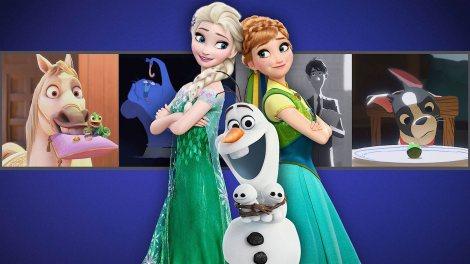 walt disney animation studios short collection dvd blu ray netflix