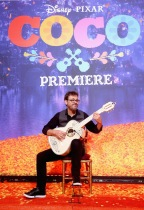 "HOLLYWOOD, CA - NOVEMBER 08: Guitarist Federico Ramos at the U.S. Premiere of Disney-Pixar's ""Coco"" at the El Capitan Theatre on November 8, 2017, in Hollywood, California. (Photo by Jesse Grant/Getty Images for Disney) *** Local Caption *** Federico Ramos"