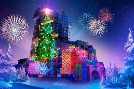 disneyland paris tower of terror natale
