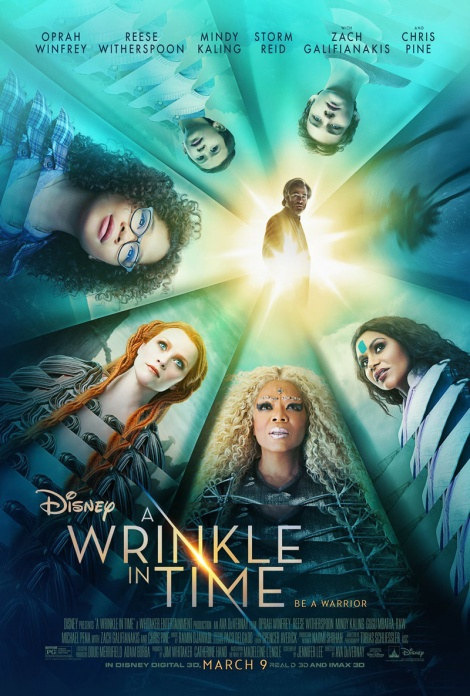 wrinkle in time pieghe del tempo nuovo poster