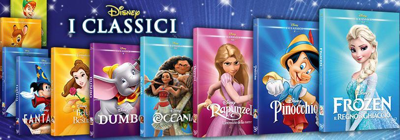 Banner DVD I Classici Disney TV Sorrisi e Canzoni