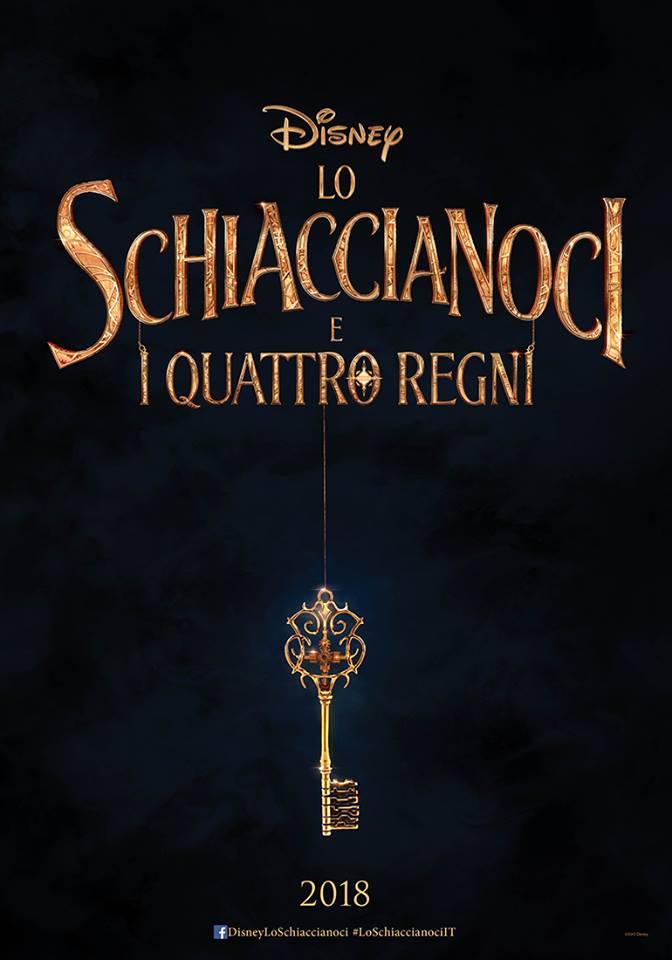 lo schiaccianoci e i quattro regni poster italiano