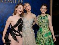 9) - Sia Lily James che Sophie McShera hanno recitato insieme in Downton Abbey, nota serie televisiva.