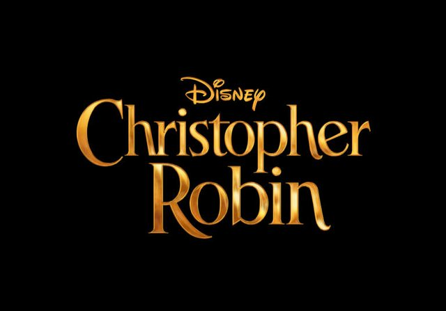 christopher robin logo disney live action