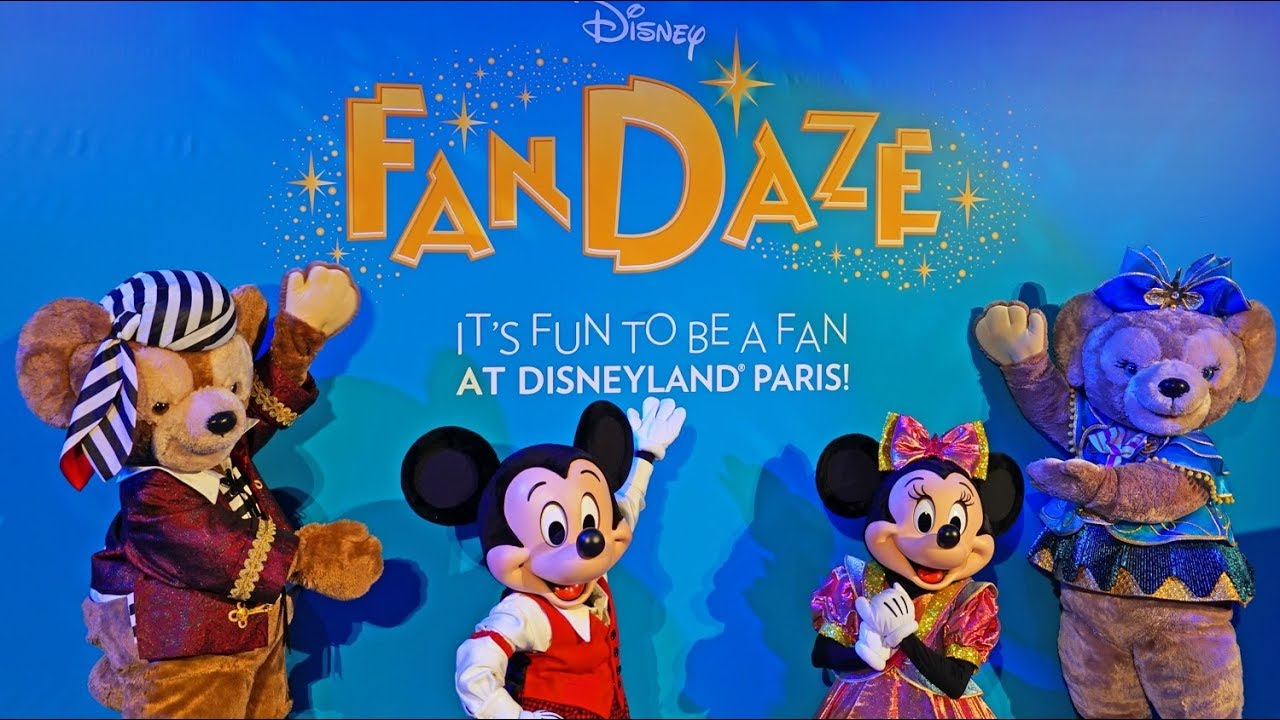 disneyland fandaze paris disney