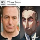 Winston Deavor è a capo di un'importante compagnia di telecomunicazioni insieme alla sorella Evelyn. È un gran sostenitore dei supereroi e vorrebbe il loro ritorno.