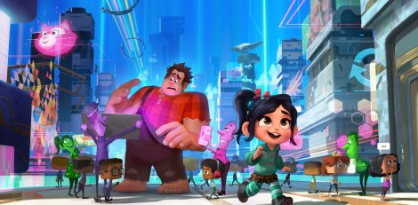 Ralph Breaks the Internet Wreck-It Ralph 2 Vanellope Concept Art