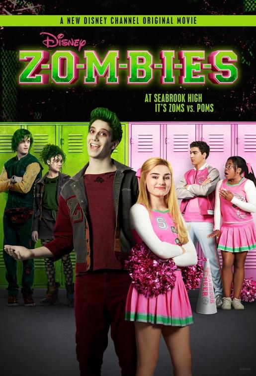 zombies disney channel original movie film poster originale
