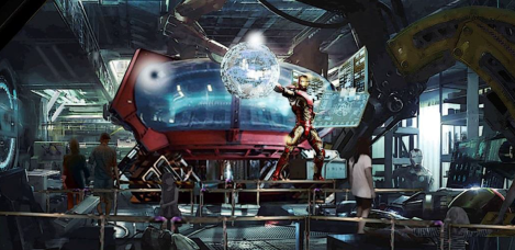 disneyland paris marvel attrazione supereroi iron man avengers