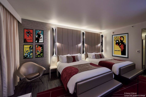 disneyland paris marvel hotel concept