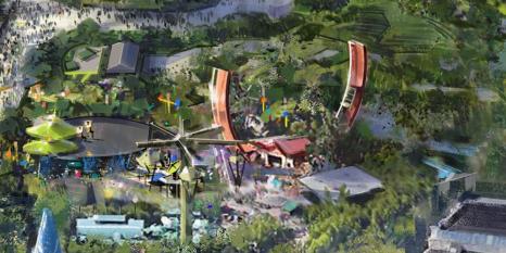 Disneyland Paris Nuove Aree Marvel Star War Frozen 2021 (8)
