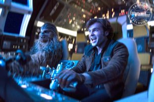 SOLO: A STAR WARS STORY Alden Ehrenreich is Han Solo and Joonas Suotamo is Chewbacca